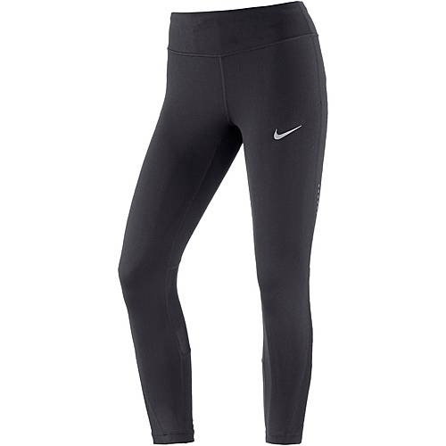 Nike Racer Lauftights Damen schwarz