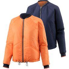 Bench Wendejacke Damen dunkelblau/orange