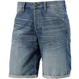 G-Star 5621 3D Jeansshorts Herren blue washed denim