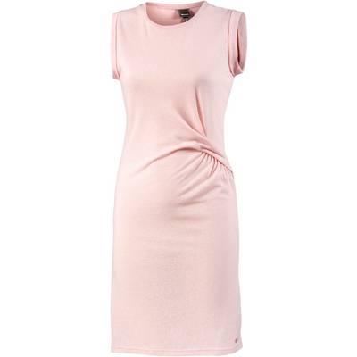 Bench Jerseykleid Damen rosa melange