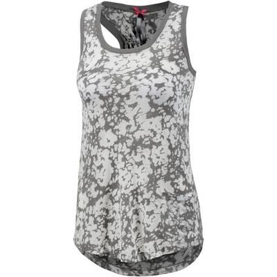 Mogul Tanktop Damen grau/weiß