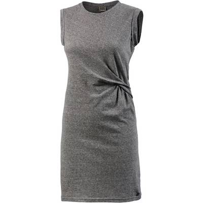Bench Jerseykleid Damen grau melange