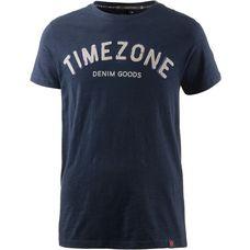 TIMEZONE Printshirt Herren dunkelblau