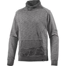 M.O.D Sweatshirt Herren grau washed