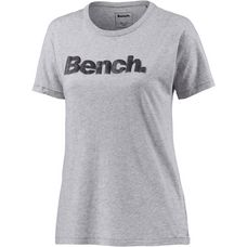 Bench T-Shirt Damen graumelange