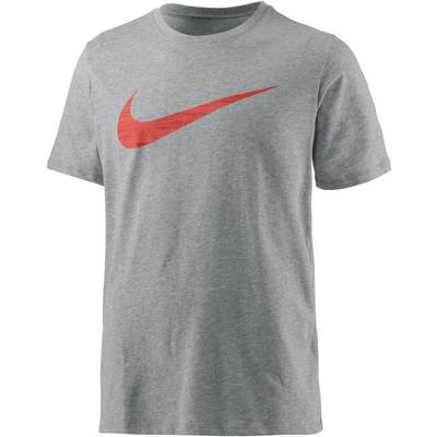 Nike Dry DF Swoosh Funktionsshirt Herren graumelange