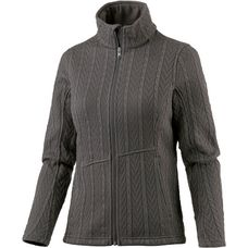 Spyder Major Cable Fleecejacke Damen schwarz