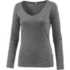 Icebreaker Siren Unterhemd Damen grau/melange