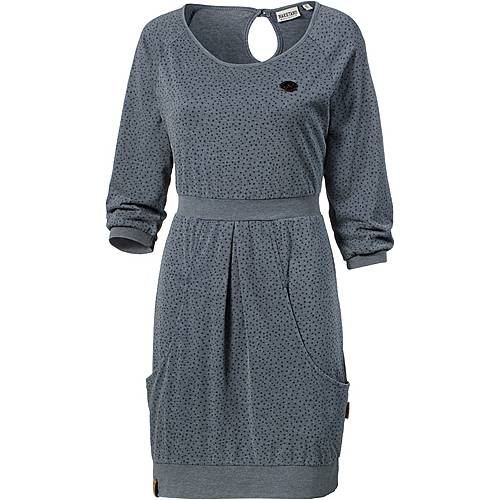 Naketano The End Jerseykleid Damen indigo melange