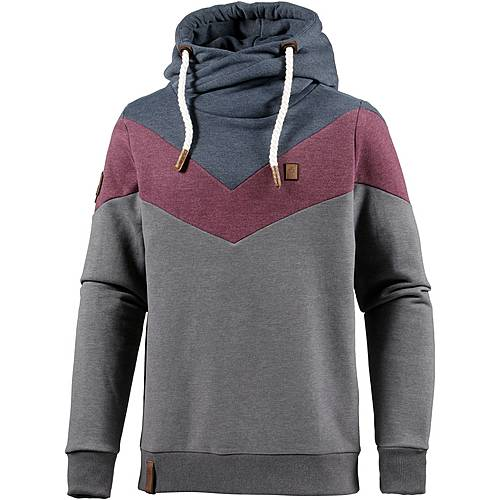 naketano kifferboarder iv hoodie herren anthrazit rot blau im online shop von sportscheck kaufen. Black Bedroom Furniture Sets. Home Design Ideas