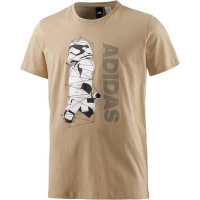 adidas Star WarsStormtrooper Printshirt Herren beige