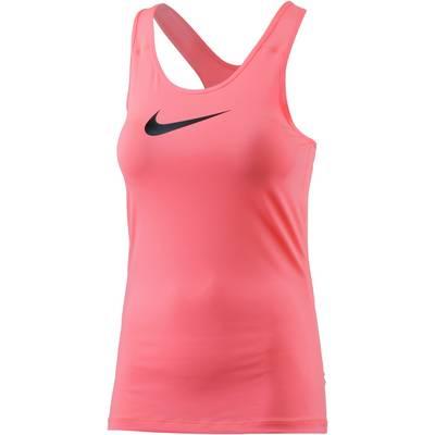 Nike Pro Dry Fit Funktionstop Damen neonpink