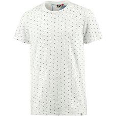 Ragwear T-Shirt Herren weiß gepunktet