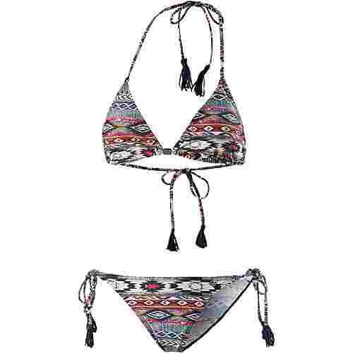 Maui Wowie Bikini Set Damen jeansblau/bunt