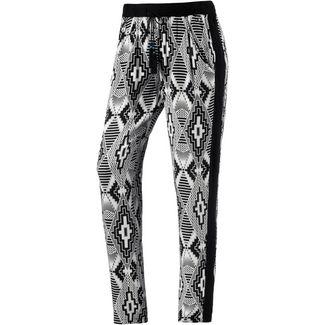 Khujo Printhose Damen schwarz/weiß