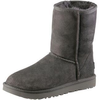 Ugg Classic Short II Stiefel Damen grey
