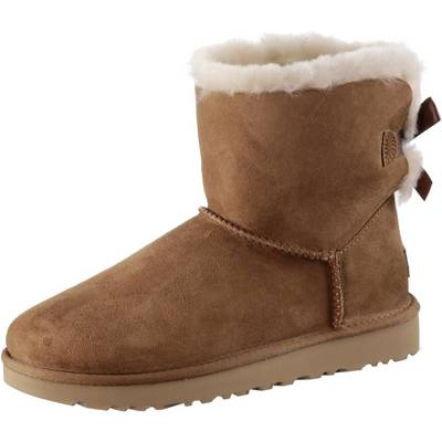 Ugg Mini Bailey BOW II Stiefel Damen beige