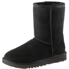 Ugg Classic Short II Stiefel Damen schwarz