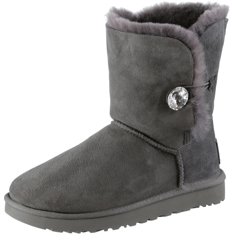 Ugg Leder Boots Grau