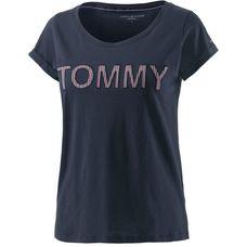 Tommy Hilfiger Printshirt Damen dunkelblau