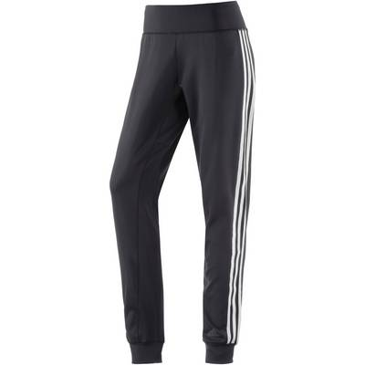 adidas D2M Trainingshose Damen schwarz-weiß