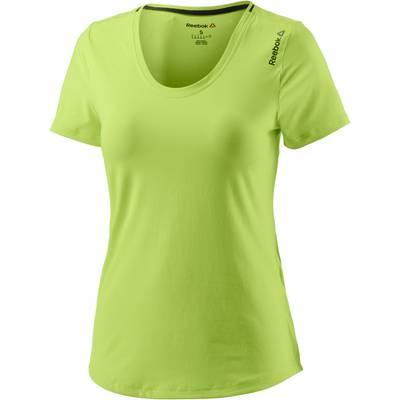 Reebok Workout T-Shirt Damen hellgrün
