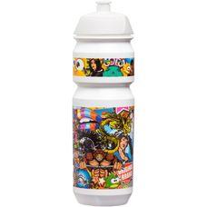 riesel design fla:sche 750 ml Trinkflasche weiß/bunt