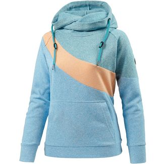 WLD Summer Cheriemoya Hoodie Damen blau/grün/orange