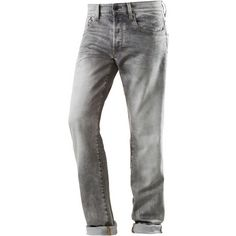 G-Star 3301 Anti Fit Jeans Herren kamden grey stretch denim lt aged