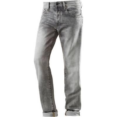G-Star 3301 Anti Fit Jeans Herren kamden grey stretch denim lt aged