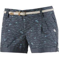 Ragwear Shorts Damen dunkelblau/hellblau