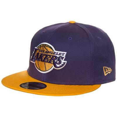 New Era 9FIFTY NBA Team Los Angeles Lakers Cap lila / gelb