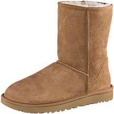 Ugg Classic Short II Stiefel Damen beige