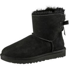 Ugg Mini Bailey BOW II Stiefel Damen schwarz