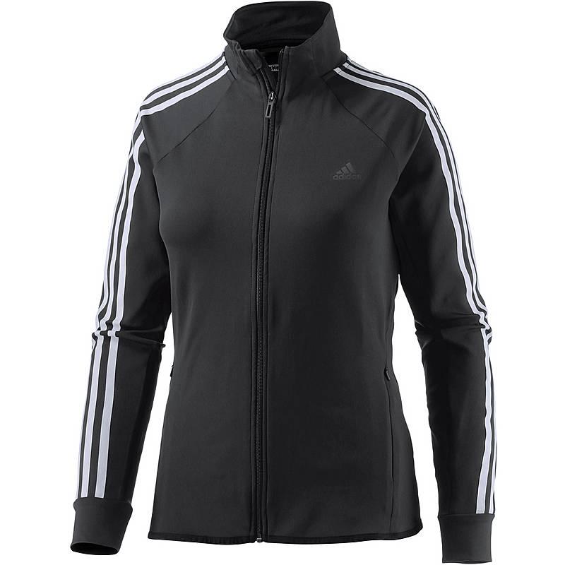 Adidas D2M Trainingsjacke Damen schwarz-weiß im Online Shop von ... e5bfd0963e
