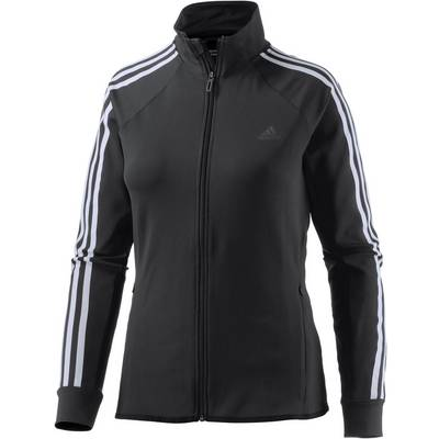 adidas D2M Trainingsjacke Damen schwarz-weiß