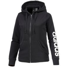 adidas Essentials Sweatjacke Damen schwarz