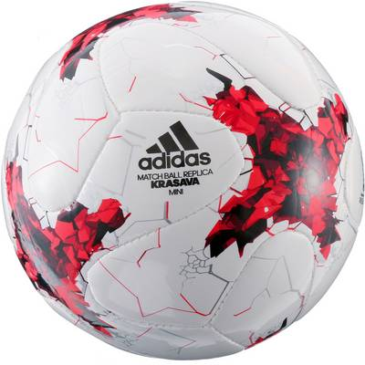 adidas Confed Cup Mini Fußball weiß