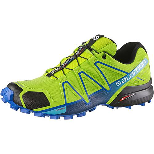 Salomon Speedcross 4 Laufschuhe Herren grün/blau