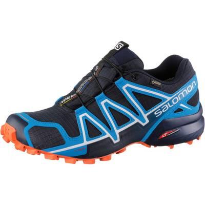 Salomon Speedcross 4 GTX® Laufschuhe Herren dunkelblau/blau/orange