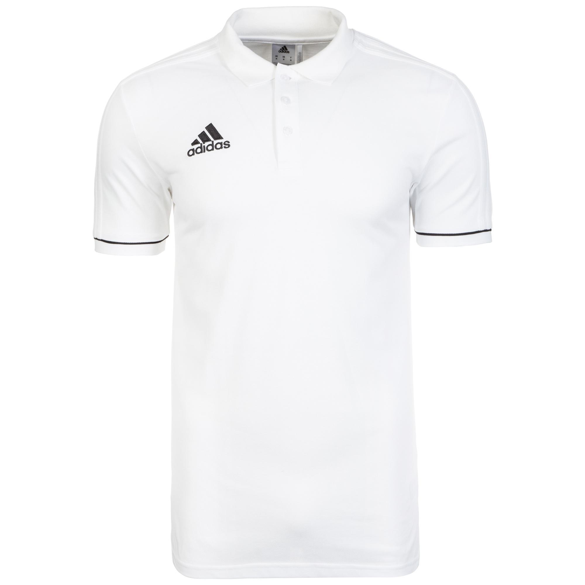 adidas Tiro 17 Poloshirt Herren weiß / schwarz im Online Shop von  SportScheck kaufen