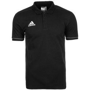 adidas Tiro 17 Poloshirt Herren schwarz / grau