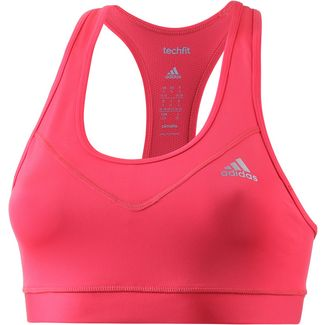 adidas Techfit Sport-BH Damen pink