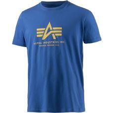 Alpha Industries T-Shirt Herren royal