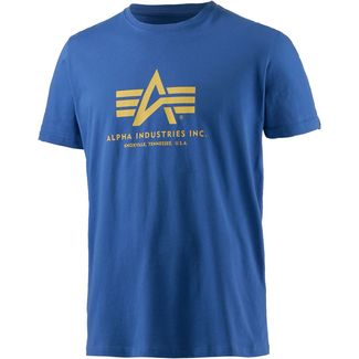 Alpha Industries T-Shirt Herren royal