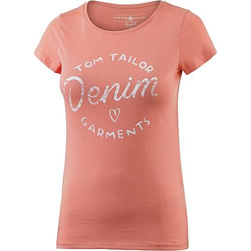 TOM TAILOR T-Shirt Damen rosa