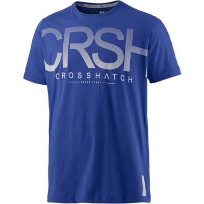 Crosshatch Printshirt Herren royal