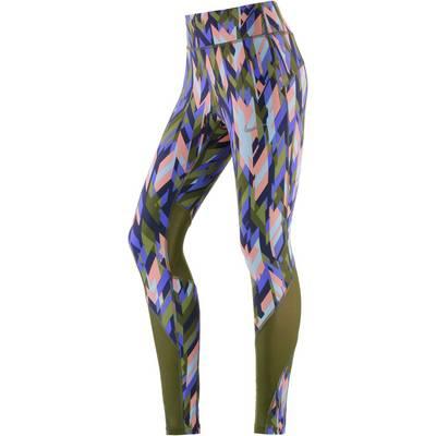Nike Power Epic Lux Lauftights Damen oliv/rosa/blau