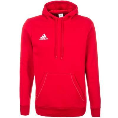 adidas Core 15 Kapuzenpullover Herren rot / weiß