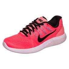 Nike Lunarglide 8 Laufschuhe Damen neonpink / schwarz